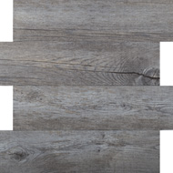 Mosaïque effet bois gris (A13)