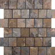 Mosaïque pierre oxydée (A10)