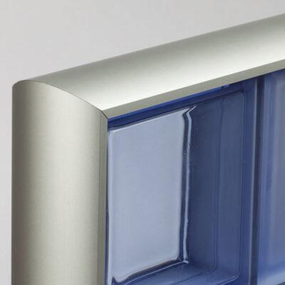 Profilés pour parois de briques de verre