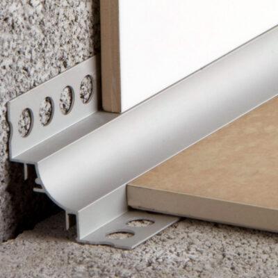 Profilés pour angle intérieurs mur/mur et jonction sol/mur