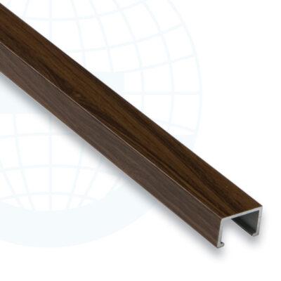 Listel aluminum décors bois 225A