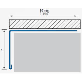 Profilé pour balcon 280A