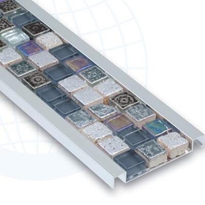 Listel aluminium verre 255A