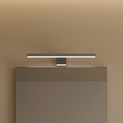 Applique lumineuse à positionner sur miroir