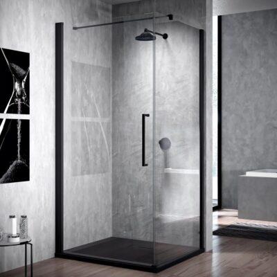 Portes de douche avec ou sans parois fixes