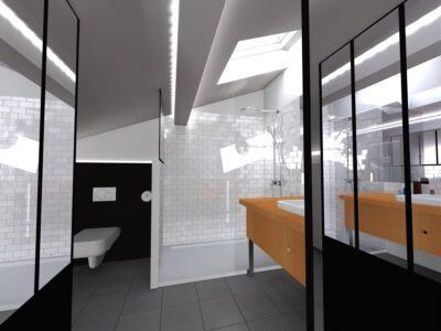 3D d'aide à la conception de votre salle de bain